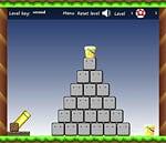 Muy divertido juego inspirados en Mario Bros , debes embocar los honguitos en los baldes para poder pasar de nivel , pero tendrás que hacerlo sorteando los obstáculos que se te presentan.