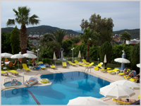 Olympos Hotel swimming pool - Ovacik, Fethiye, Turkey
