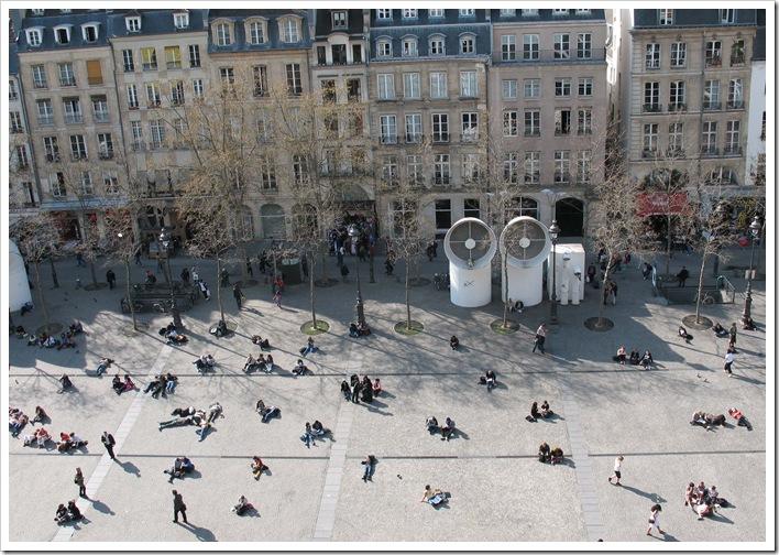 Blick vom Centre Georges Pompidou
