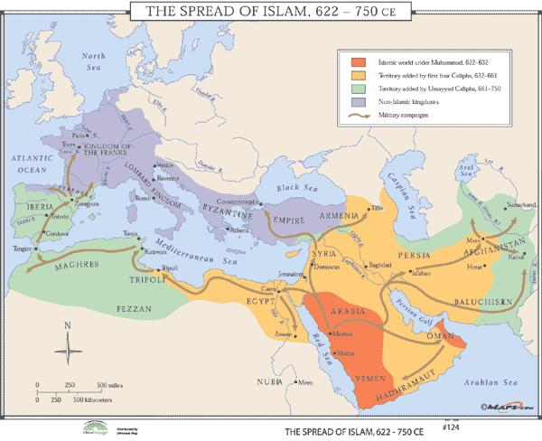 Islám 622-750