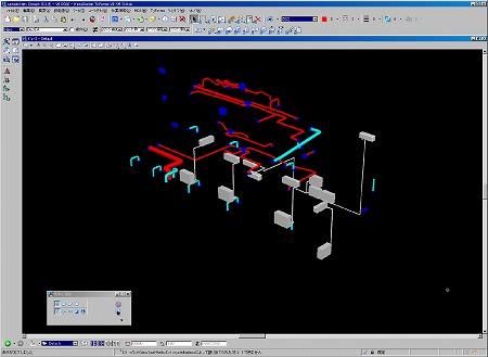 換気ダクト、エアコン設備のモデル化|高橋建築研究所・一級建築士設計事務所|建築家・高橋寛