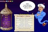 Akinator es un Genio Magico de la Web que nos va ha hacer pasar un grato momento de distraccion al adivinar el personaje que estmos pensando. Con Akinator quedaras realmente sorprendido con lo que el genio akinator puede hacer , no le mientas y seguro que akinator descubrira lo que estas pensando. Para poder jugar Akinator el  Genio de la web denes hacer click sobre la imagen.