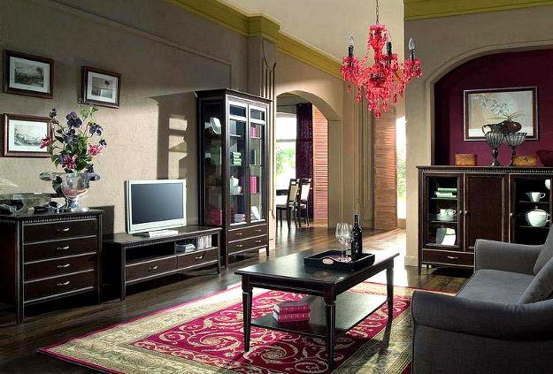 Sufragerie lemn masiv MALAGA