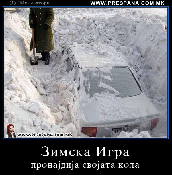 Зимска игра