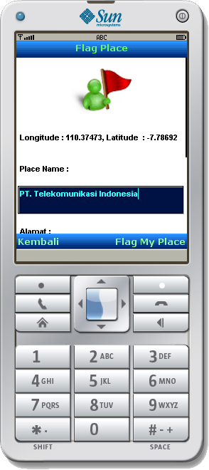 Mobile App: Flag Place - 1