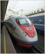 Sapsan High Speed Train, Russia