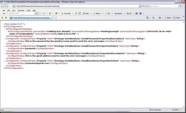XMLConfigurationFile