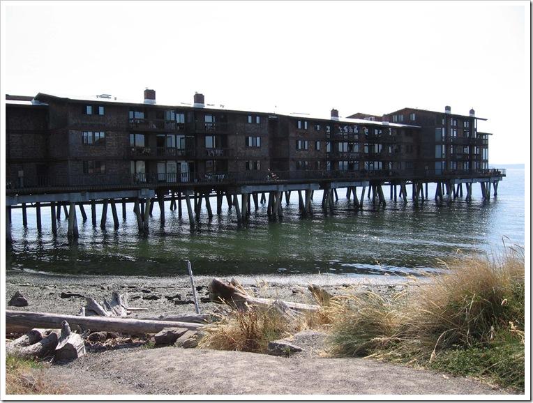 West Seattle Alki Beach cool apartment building