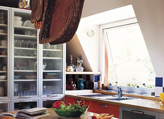 diseño, decoracion, cocina, ventanas