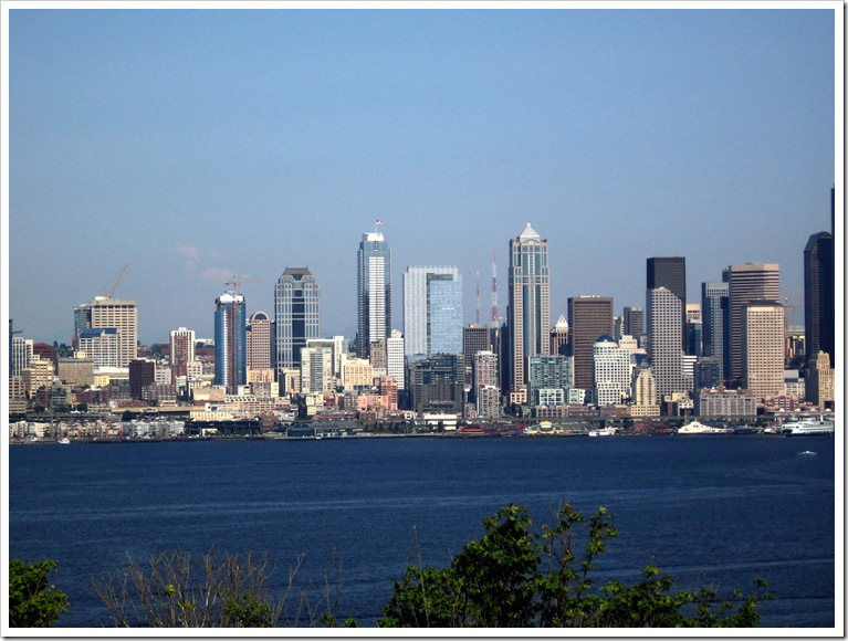 West Seattle view of the city 2