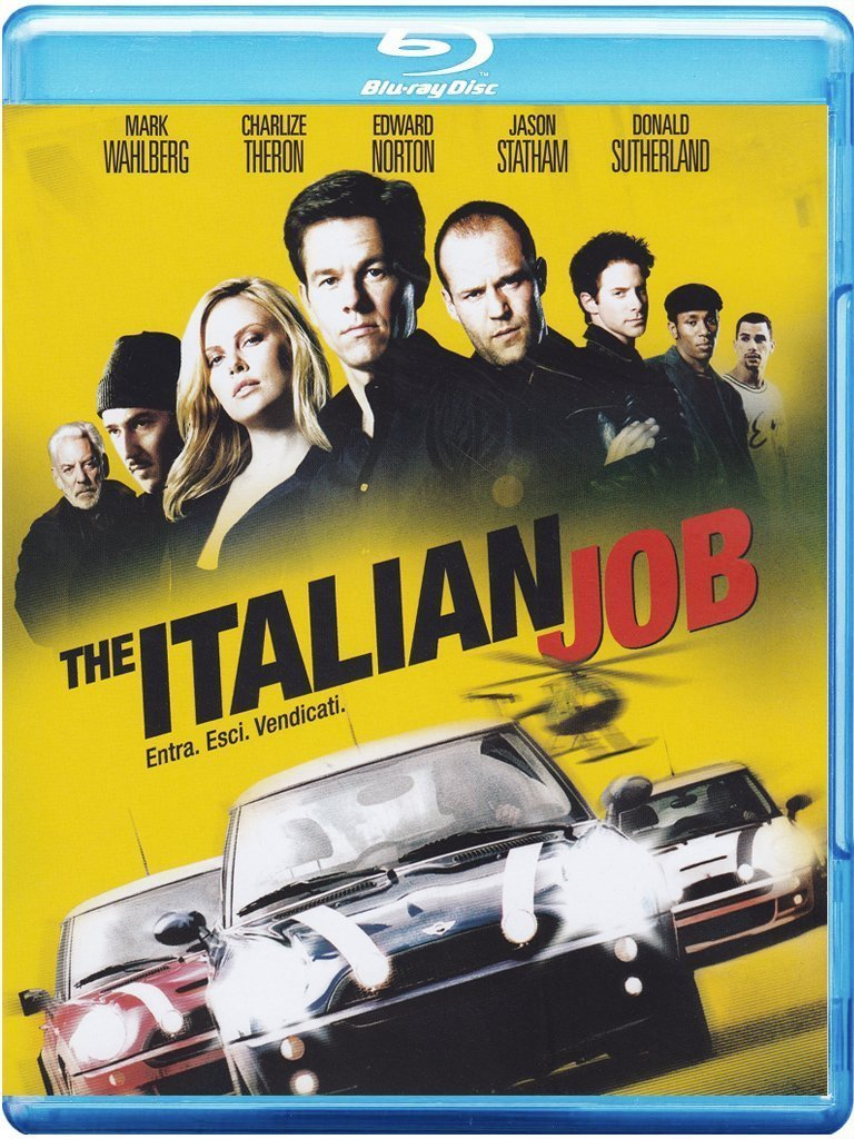 the italian job blu-ray