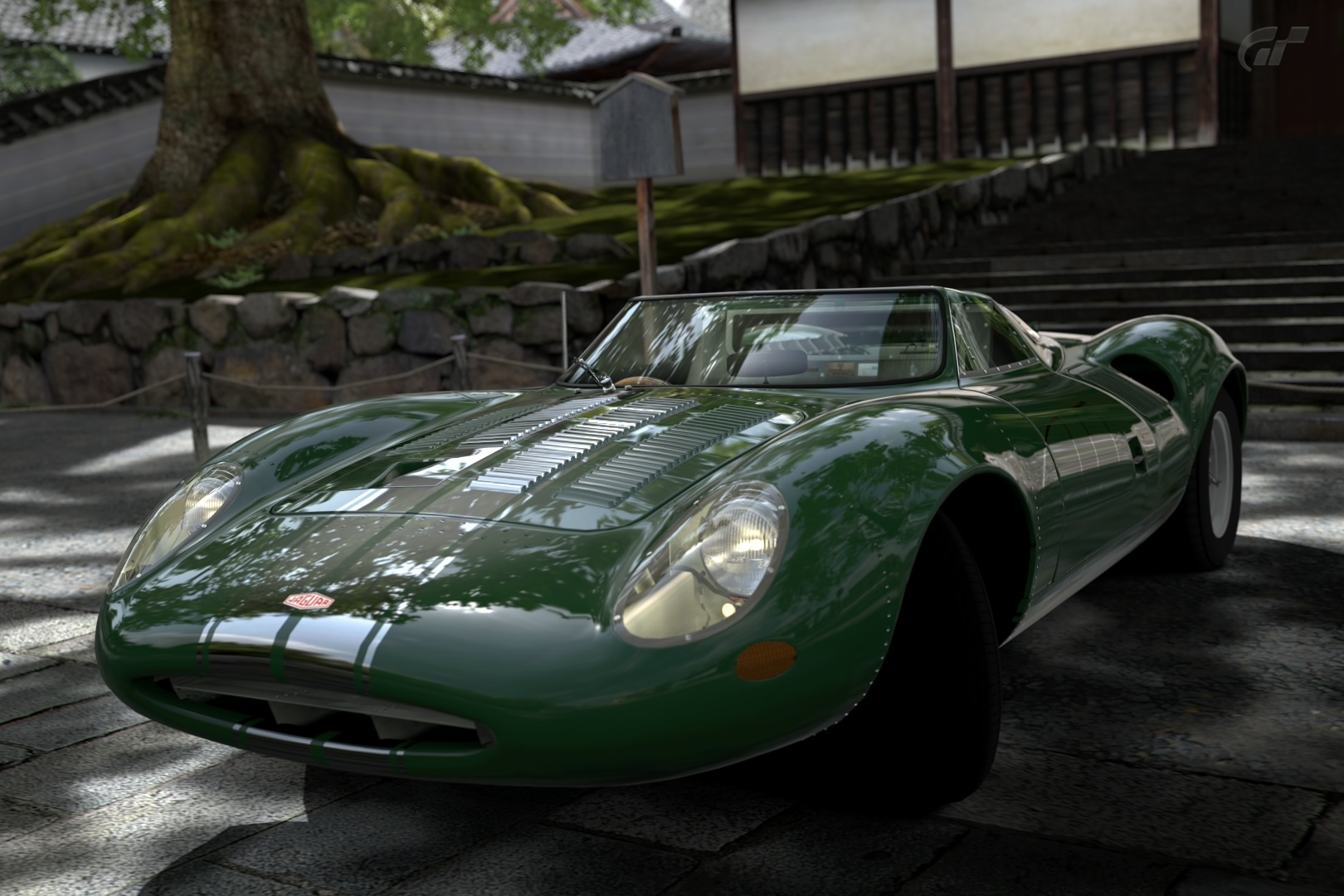 Jaguar XJ13 Race Car Chrome Line