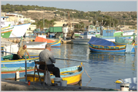 Traditional fishing village, Marsaxlokk