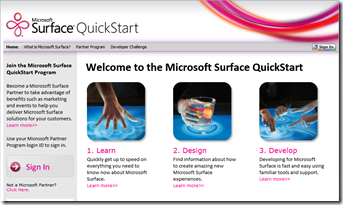Microsoft Surface Quick Start