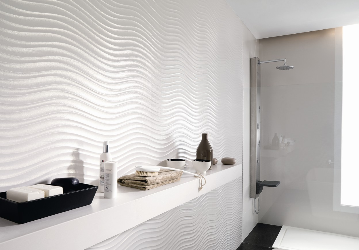 Azulejos Baño Relieve:Modern Bathroom Wall Tile Ideas