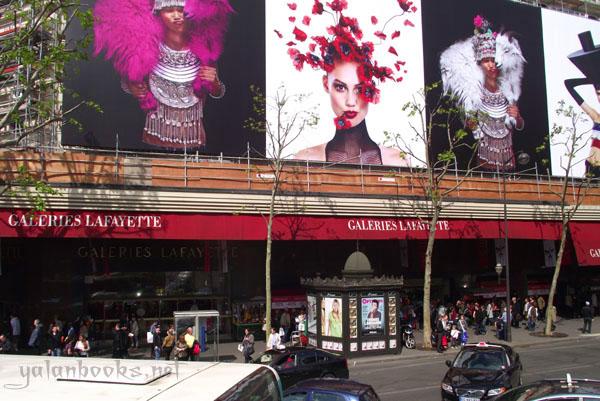 Paris Galeries Lafayette Photography Views Romanticism 巴黎老佛爷百货 风光摄影 浪漫主义 Yalan雅岚 黑摄会