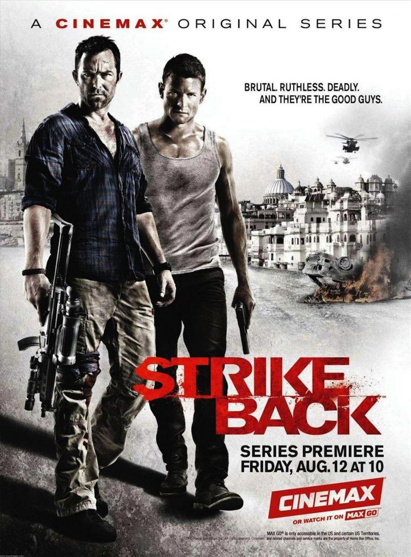 [影集] Strike Back (2010~2015) S2-Cartaz