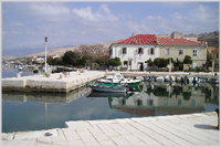 City of Pag harbour, Croatia