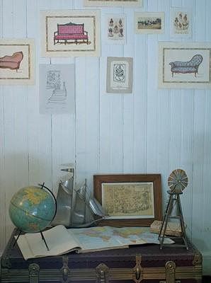 Una casona antigua recuperada, Decoracion, diseño
