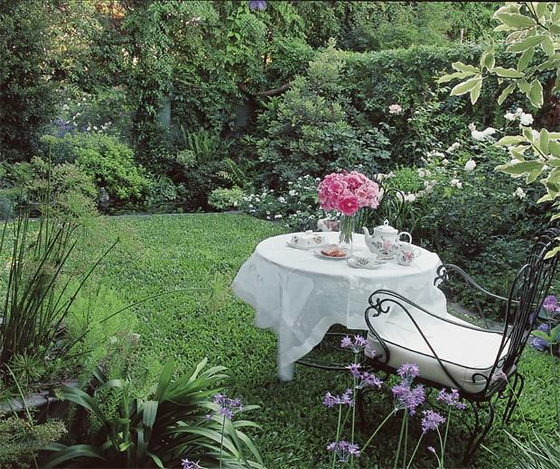 jardin 4 Pequeño edén: jardines urbanos con poco espacio decorar, decoración