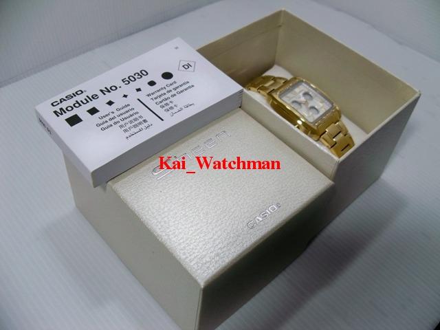 นาฬิกาข้อมือ คาสิโอ Shn-6500GD-7ADR_1