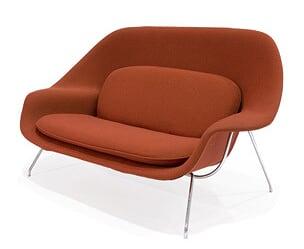 红色子宫沙发(Womb sofa)