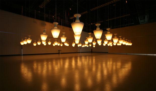 Lampara Honeycomb Lamp - Kouichi Okamoto, Decoracion, iluminacion, diseño