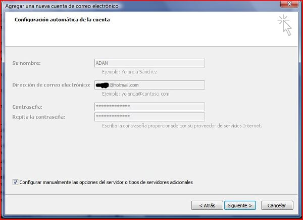 [Tutorial] Configurar cuentas hotmail en outlook no programa