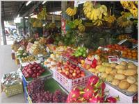 Amazing fruits in Ko Samui