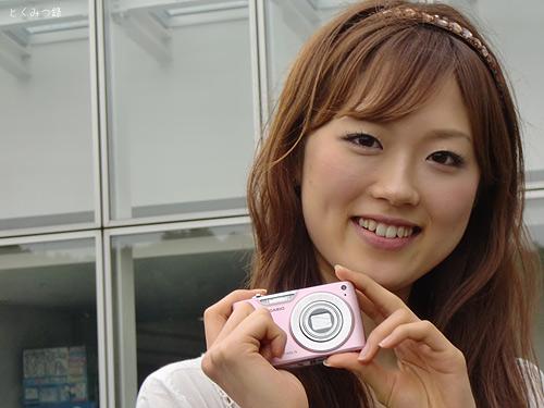 EX-Z450 モデル:麻丘 しおりさん画像