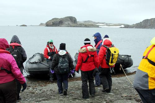 南極半島 キングジョージ島