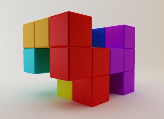 Gabriela Cañas, Tetris, decoracion, diseño, muebles, Colores