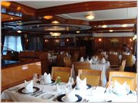 Dining room onboard Royal Crown - eWaterways
