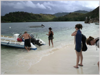 Marine survey in Seychelles