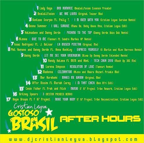 Gostoso Brasil After Hours [Set Mix Part 2]