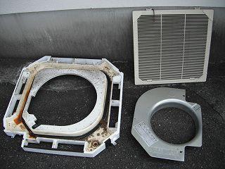 分解洗浄 エアコン オフィス 事務所 工場 静岡県