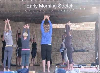 Yoga Retreat Stretch
