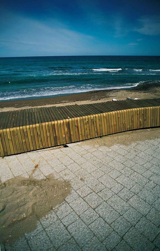 Arquitectura Paisajista: Frente Marítimo de las Negras - Jesús Torres García