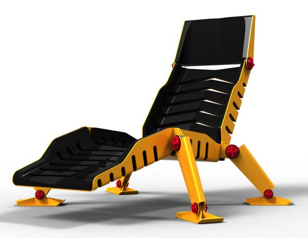 design, Bulldozer Lounge Chair - Mark Goetz y Efe Buluc