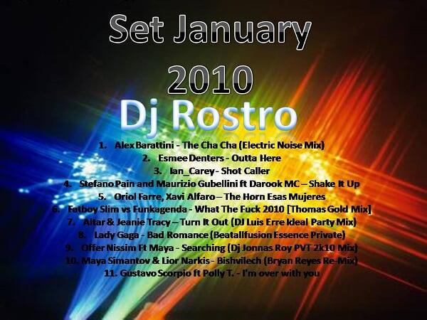 Set January 2010