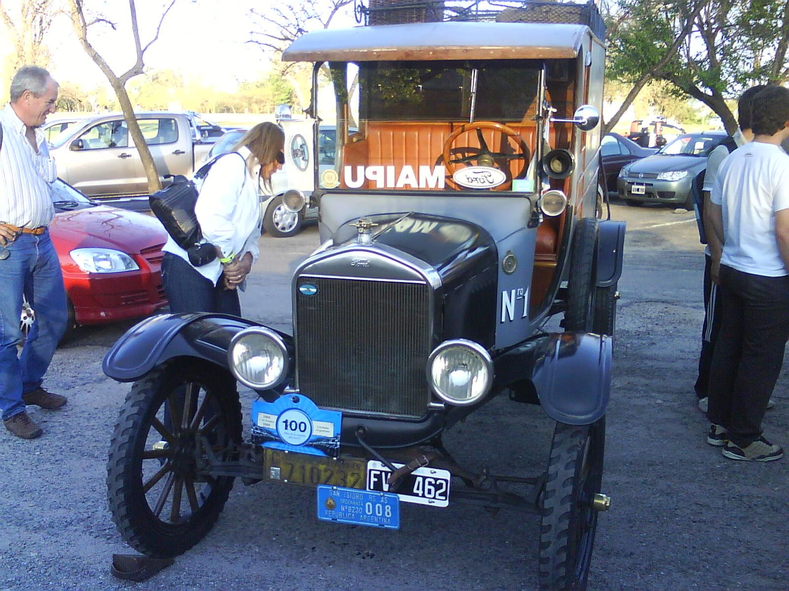 Autos ford antiguos