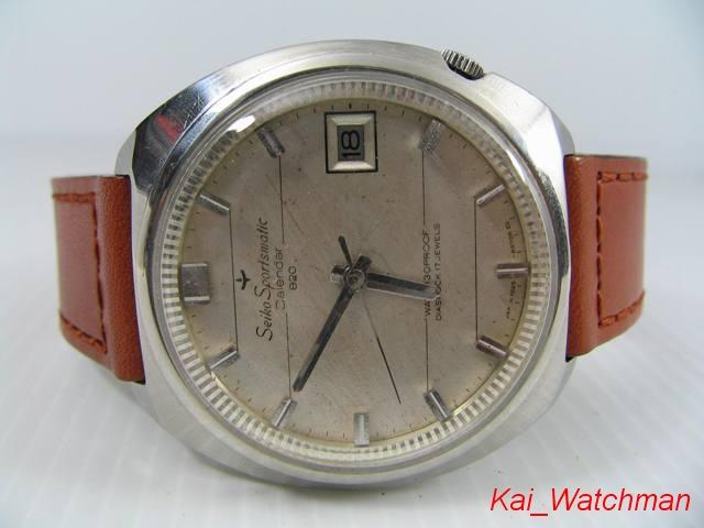 นาฬิกาข้อมือไซโก้ Seiko Sportsmatic Calendar 820_1