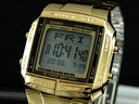 นาฬิกาข้อมือ คาสิโอสีทอง db360g-9adf