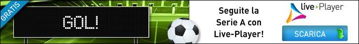 Scarica Live-Player e vedi tutto il Calcio Gratis