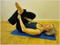 Buttock/hip Stretch