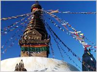 Swayambunath Stupa, Nepal