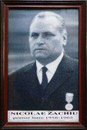 Nicolae Zachiu - 1956-1962