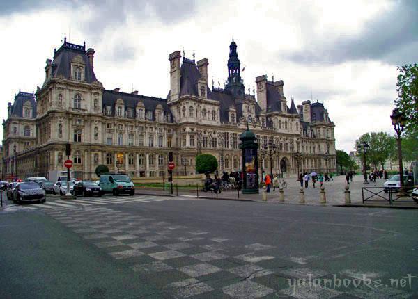 Paris Photography Views Romanticism 巴黎市政厅 风光摄影 浪漫主义 Yalan雅岚 黑摄会