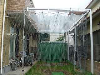 可動式テント 屋外バッティング練習 飛球防止テント