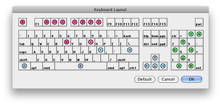 nestopia-键盘布局设置